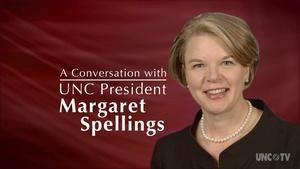A Conversation with UNC President Margaret Spellings