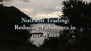 Nutrient Trading: Reducing Pollutants in our Water