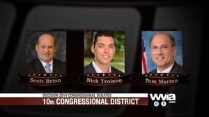Pennsylvania 10th Congressional District Debate