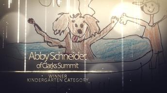 Abby Schneider - Kindergarten Winner PBS Kids Young Writers