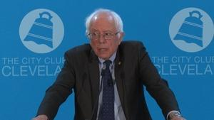 Remarks from Senator Bernie Sanders