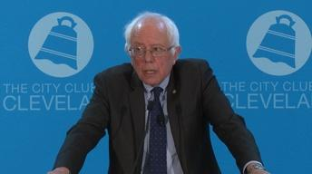 Remarks from Senator Bernie Sanders