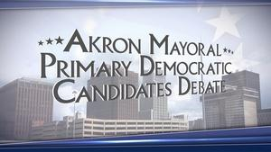 2015 Akron Mayoral Primary Democratic Candidates Debate