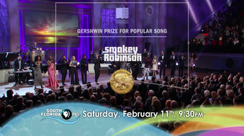 Smokey Robinson: Gershwin Prize for Popular Song