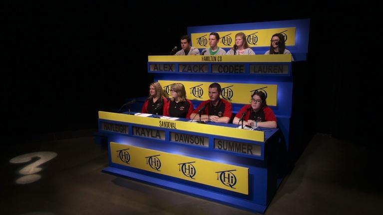 Scholastic Hi-Q: Sandoval vs. Hamilton County 2720