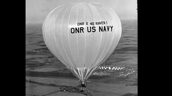 The First Flight of the Modern Hot Air Balloon