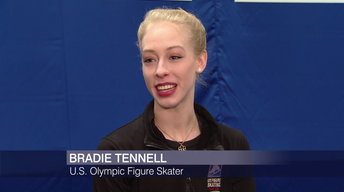 On the Ice With Bradie Tennell, Team USA Figure Skater