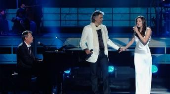 "S45 Ep9: Andrea Bocelli and Katharine McPhee sing ""The Praye"