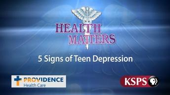 Five Signs of Teen Depression