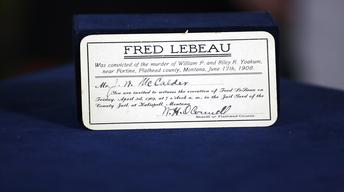 S22 Ep12: Appraisal: 1909 Execution Invitation