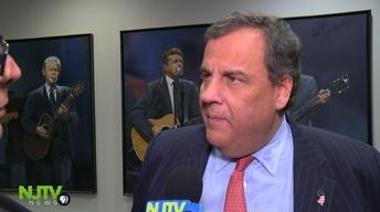Christie joins NJ Devils to warn about illegal drugs