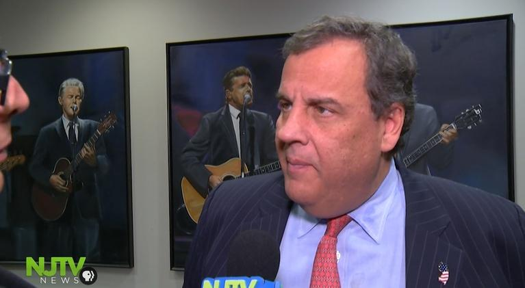 NJTV News: Christie joins NJ Devils to warn about illegal drugs