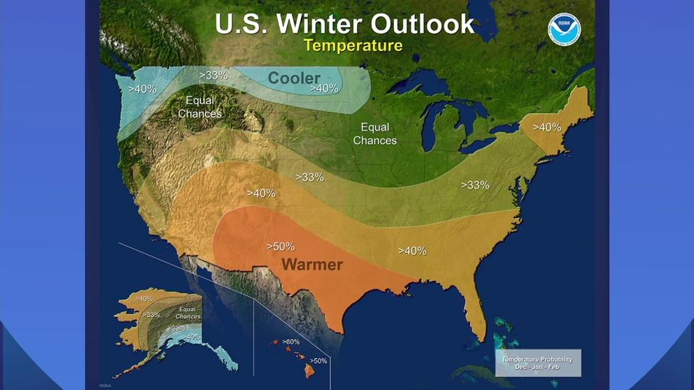 Chicago Winter Could Be Mild, Wet … or Neither image