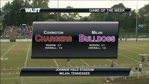 Covington High School vs Milan High School Football