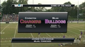 Covington High School vs Milan High School Football
