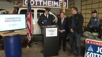Gottheimer shows progress 'clawing back' federal funds