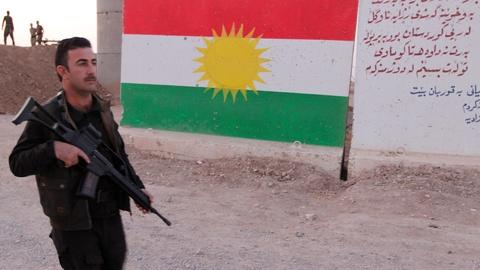 PBS NewsHour -- Iraqi, Kurdish forces in standoff over Kurdish independence