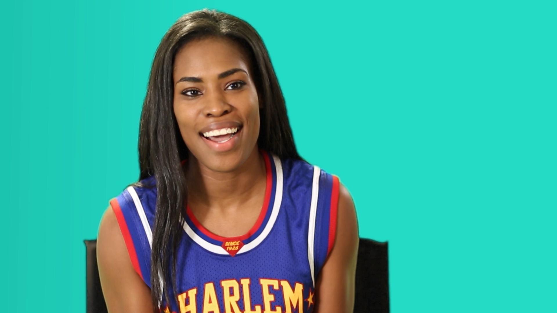 "Harlem Globetrotter, ""TNT"", Enjoys PBS KIDS"