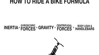 The Science of Riding a Bike