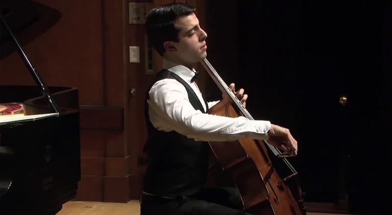 On Stage at Curtis: Cellist Timotheos Petrin Graduation Recital