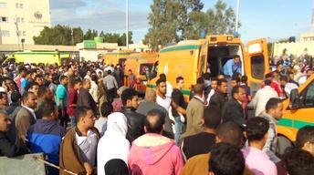 Militants target Muslims in Egypt's deadliest modern attack