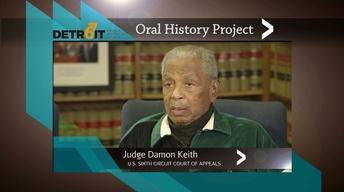 Detroit '67 Oral History Project: Damon Keith