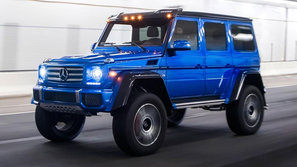Motorweek 2017 mercedes benz g550 4x4 squared 2017 for Mercedes benz g550 4x4 squared