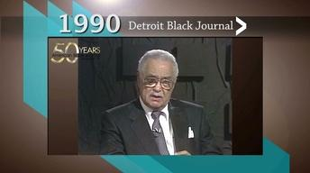 Detroit Black Journal Interview: Coleman Young