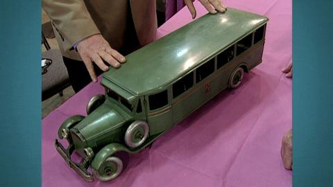 "Antiques Roadshow -- S21 Ep28: Appraisal: Buddy ""L"" Toy Bus, ca. 1930"