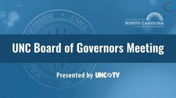The UNC Board of Governors July 14, 2017