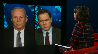 Lawrence Summers, Niall Ferguson and Evan Osnos