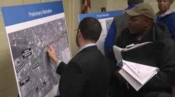 Newarkers get a look at proposed PATH extension to airport