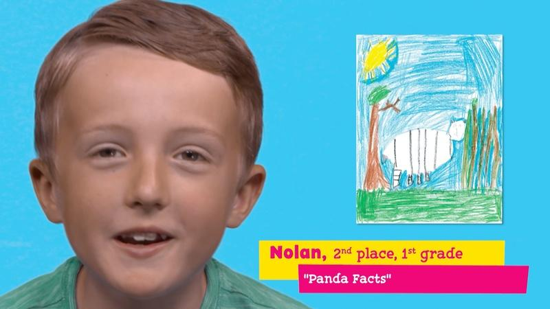 "Featuring ""Panda Facts"" by Nolan"