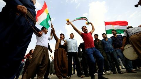 PBS NewsHour -- Facing opposition, Kurds make a new bid for independence