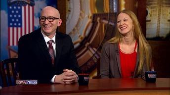 Sen. Amy Sinclair and Rep. Walt Rogers