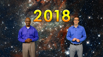 """""""Celestial Events of 2018"""" Jan 1-7th 5 Min"""