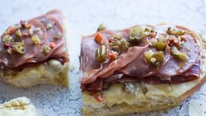 Andrew Wettengel, Chicken Soup & Muffuletta Sandwich