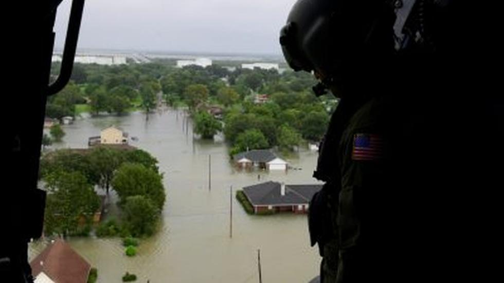 As Harvey clean-up begins, some communities still immersed image