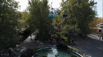 Lagoon: Take the Sky Ride in 12 seconds!