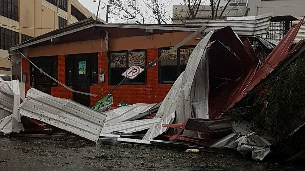 Hurricane Maria's destructive tear across the Caribbean image