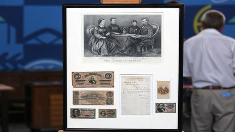 Antiques Roadshow -- Appraisal: 1864 Abraham Lincoln Presidential Letter