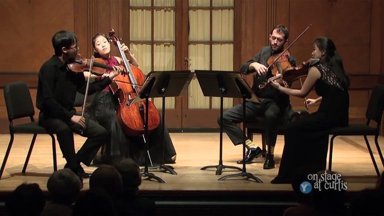 On Stage at Curtis: Zora String Quartet