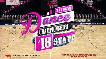 2018 Iowa State Dance Team Championships