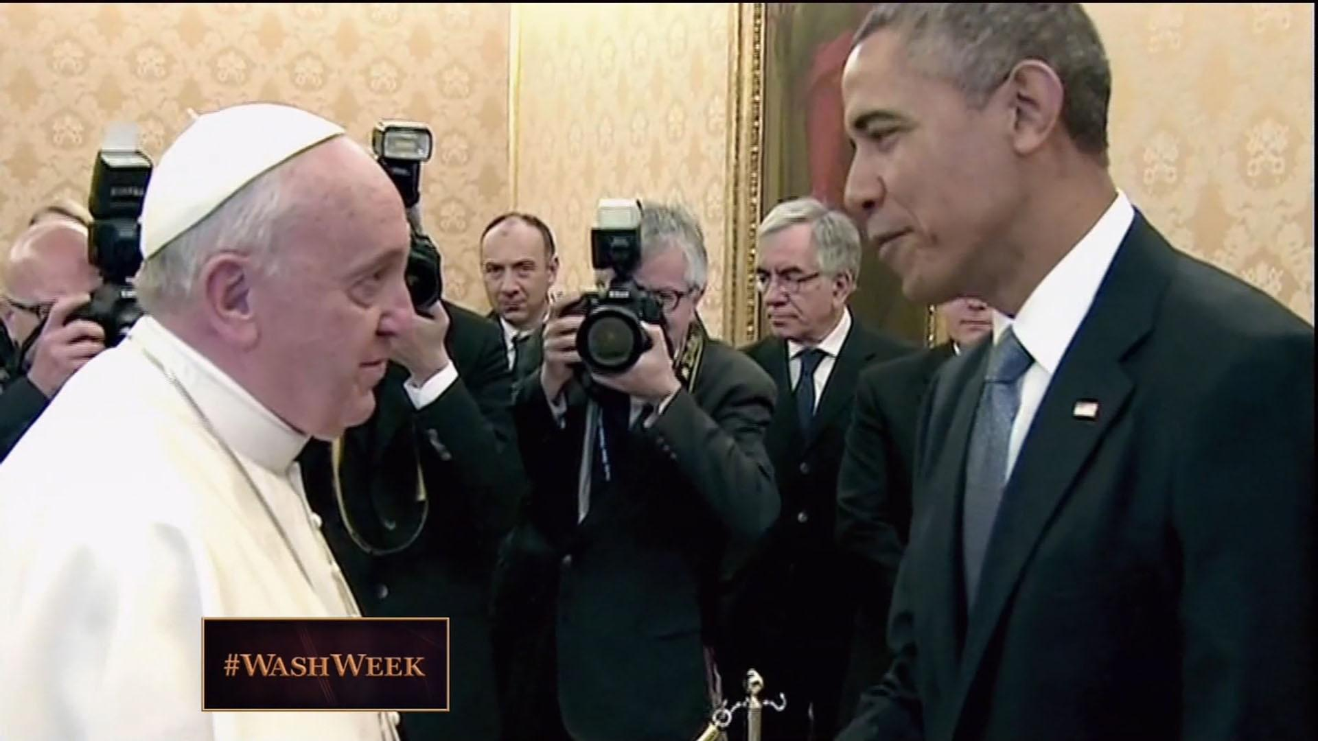 From the Vault: President Obama Meets Pope Francis