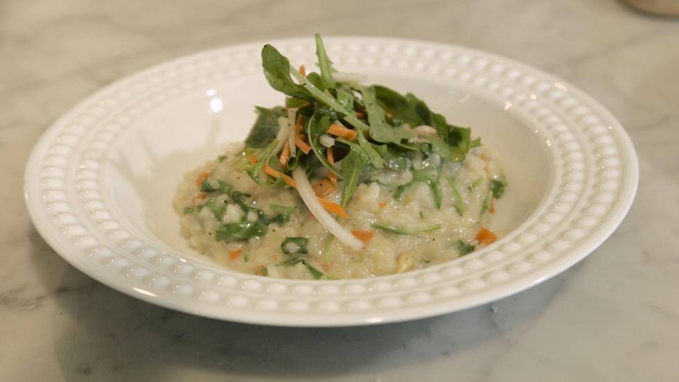 Lemon & Arugula Risotto image