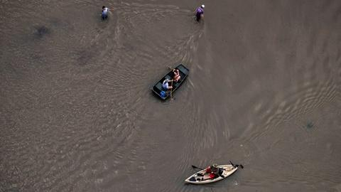 PBS NewsHour -- Surveying toxic waste sites flooded by Harvey