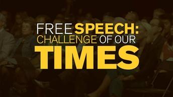 Free Speech: Challenge of Our Times 101