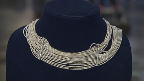 "Antiques Roadshow -- Appraisal: Pearl & Diamond ""Dog Collar"" Necklace, ca. 1900"