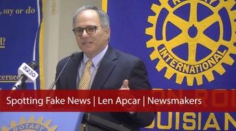 Spotting Fake News | Len Apcar | Newsmakers