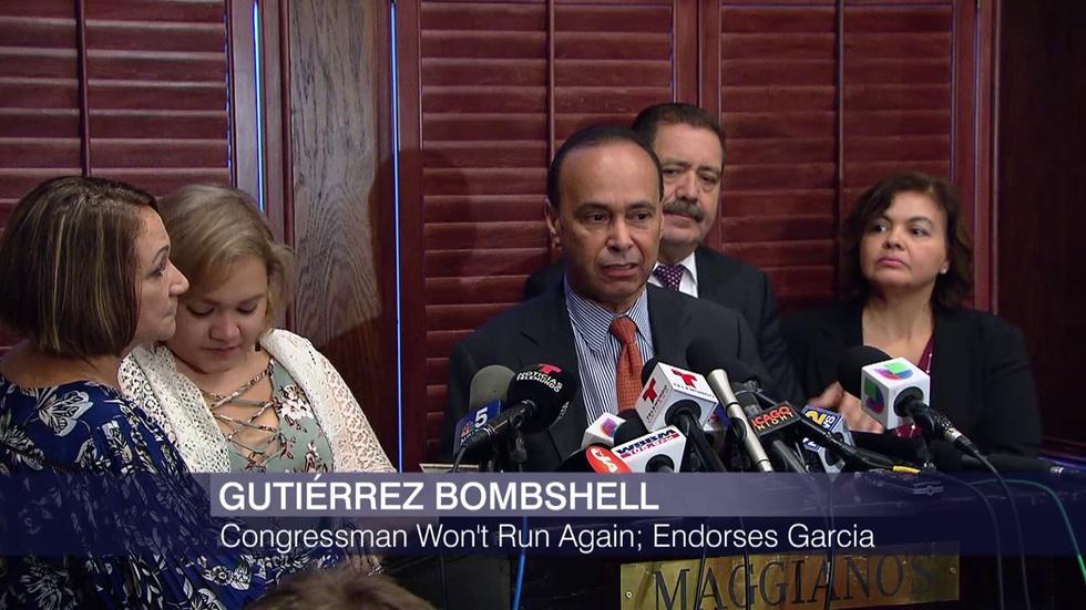 Rep. Luis Gutierrez's Retirement Shakes Up Political Scene image